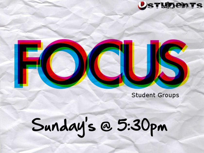 Focus Student Groups